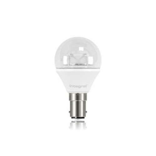 Mini Globe 3.8W (25W) 2700K 250lm B15 Non-Dimmable Clear Lamp