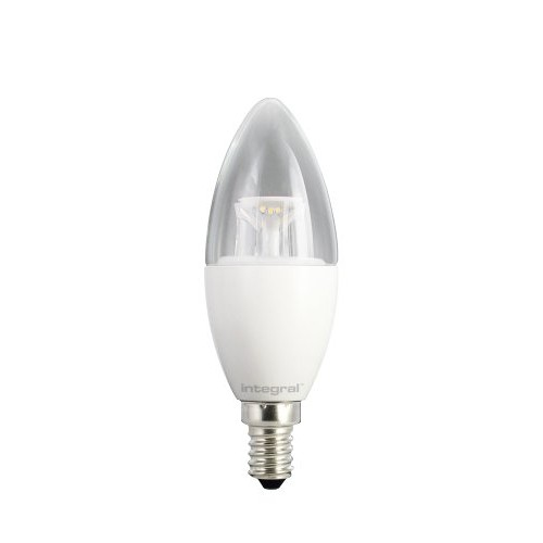 Candle 6.5W (40W) 5000K 490lm B22 Dimmable Clear-Lamp