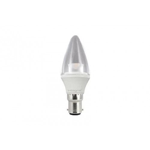 B15 250Lumens 3.8W eq. to 25W 2700k 80cri 230° Clear