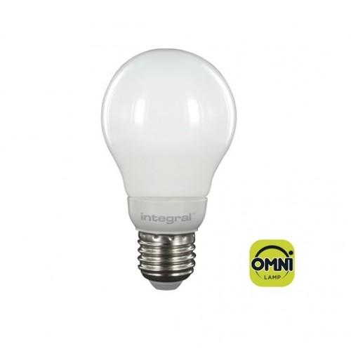 Classic Globe (GLS) Omni-Lamp 4.6W (40W) 3000K 470lm E27 Non-Dimmable 330 deg Beam Angle