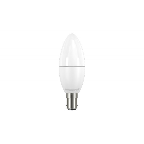 Candle 6.8W (40W) 2700K 470lm B15 Non-Dimmable Frosted Lamp