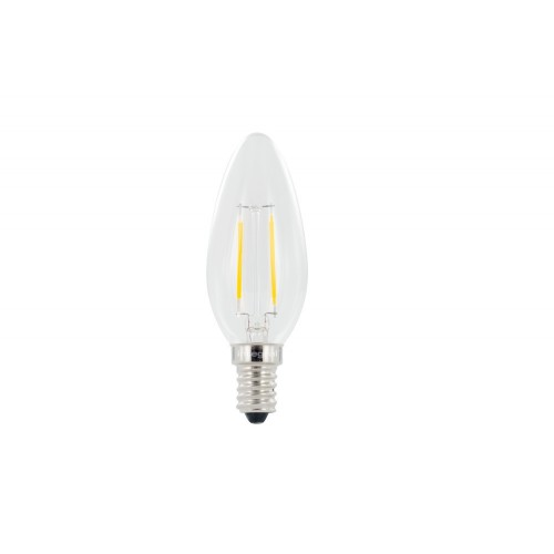 Candle Omni-Lamp 2W (25W) 2700K 250lm E14 Non-Dimmable 300 deg Beam Angle