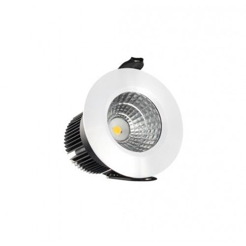 Downlight 4.5W (20W) 3000K 250lm 48mm cut-out Dimmable Matt white finish