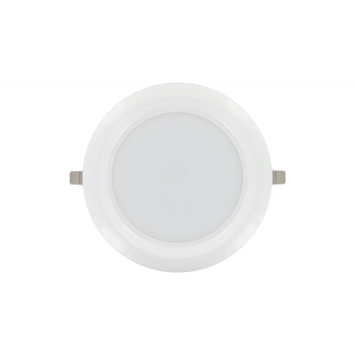 Downlight 11W (18W) 4000K 800lm 100mm cut-out Non-Dimmable with integrated driver Matt white finish
