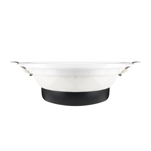 Downlight 11W (18W) 5000K 920lm 100mm cut-out Non-Dimmable with integrated driver Matt white finish