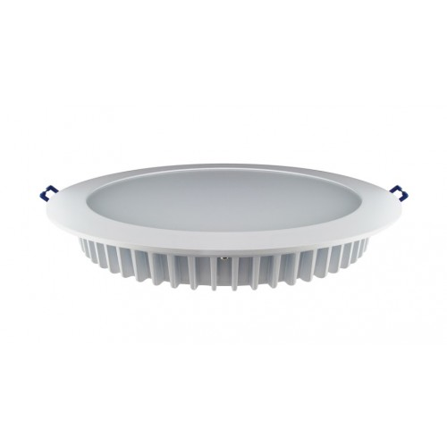 Downlight 15W (26W) 3000K 1040lm 200mm cut-out Dimmable Matt white finish