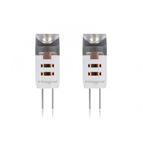 Twin Pack G4 1.5W (10W) 4000K 90lm Non-Dimmable 320 deg Beam Angle