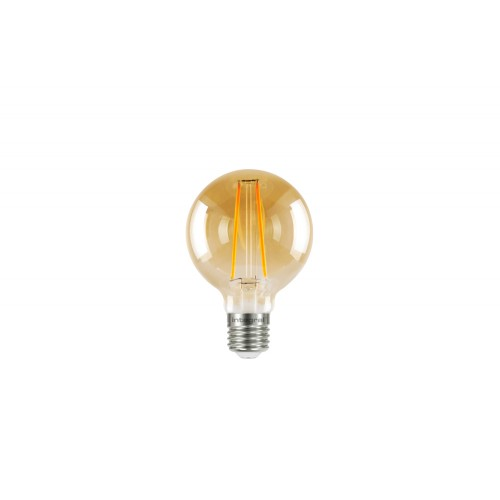 G80 E27 170Lumens 2.5W eq. to 19W 1800k 80cri 300° Clear Amber