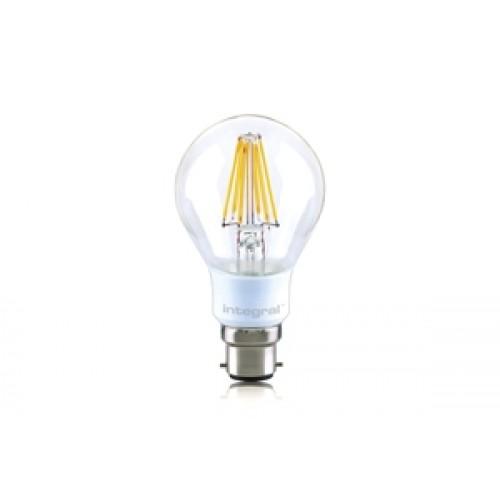 Classic Globe (GLS) Omni-Lamp 7W (60W) 2700K 810lm B22 Dimmable 330 deg Beam Angle