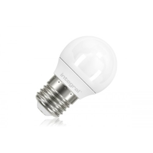 Mini Globe 3.4W (20W) 2400K 230lm E27 Non-Dimmable Frosted Lamp, 210° beam angle