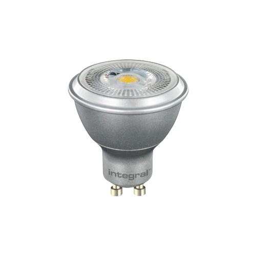 GU10 COB PAR16 Silver 6.8W (50W) 4000K 410lm Dimmable Lamp