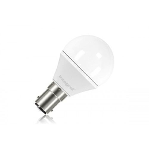 Mini Globe 3.8W (25W) 2700K 250lm B15 Non-Dimmable Frosted Lamp