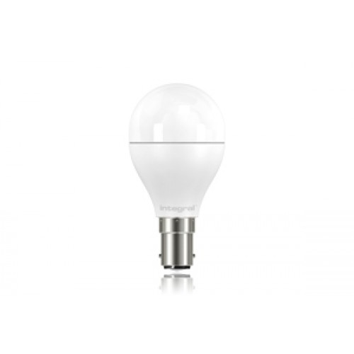 Mini Globe 6.8W (40W) 2700K 470lm B15 Non-Dimmable Frosted Lamp