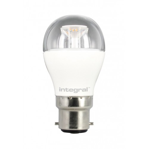 Mini Globe 6W (40W) 2700K 470lm B22 Non-Dimmable Clear Lamp