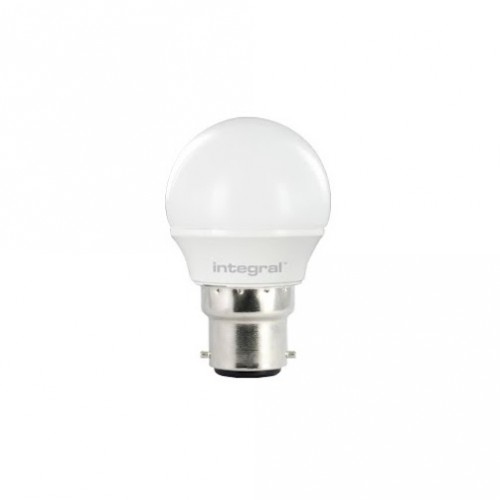 Mini Globe 3.5W (25W) 2700K 250lm B22 Non-Dimmable Frosted Lamp