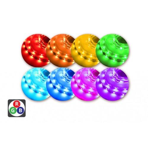 RGB Strip IP33 5m x 10mm Colour Changing 7.2W per metre