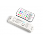 LED Strip RF Wireless RGBW Receiver with Button Remote Controller
